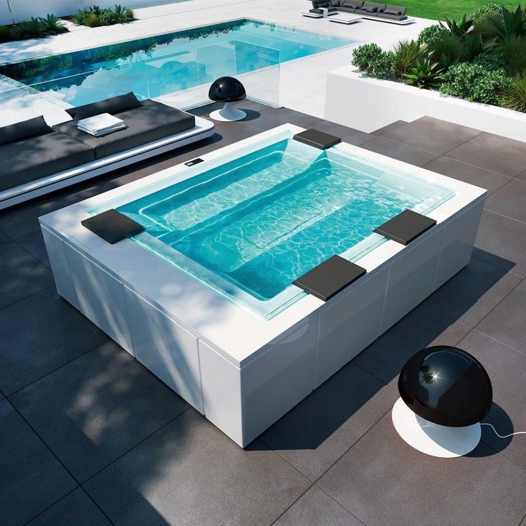 Vasche e piscine Treesse design esclusivo per prodotti ad alta tecnologia